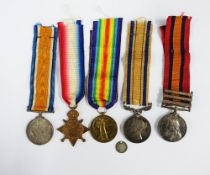 South Africa Campaign Medal 1877 - 79 awarded to Levy Leader Mr W Gray, a Queens South Africa