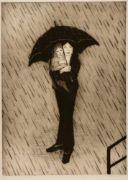 Gustav STETTLER (1913-2005) Portraits und Personen Konvolut von 8 sehr grossen Graphiken, mit Bleistift signiert Unterschiedliche Grössen von 39 x 49 cm bis  41 x 59 cm  Gustav Stettler: Maler, Zeichner und Radierer. Geboren am 5.4.1913 in Oberdiessbach (BE), gestorben in Basel am 27.6.2005. Aufgewachsen in Herbligen (BE). 1930-31 Lehre als Flachmaler. 1934-38 Kunstgewerbeschule Basel bei A. Mayer, A. Flechter, Walter Bodmer, Th. Eble. 1943-68 Lehrer an der Kunstgewerbeschule Basel für Zeichne...