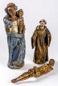 MADONNA, CORPUS CHRISTI AND SAINT