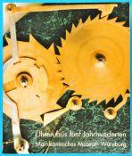 Mainfränkisches Museum Würzburg, Uhren aus fünf Jahrhunderten, Katalog von 1999<br