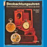 Norbert Eder, Beobachtungsuhren, 1987Norbert Eder, Beobachtungsuhren, 1987, 216 Seiten mit