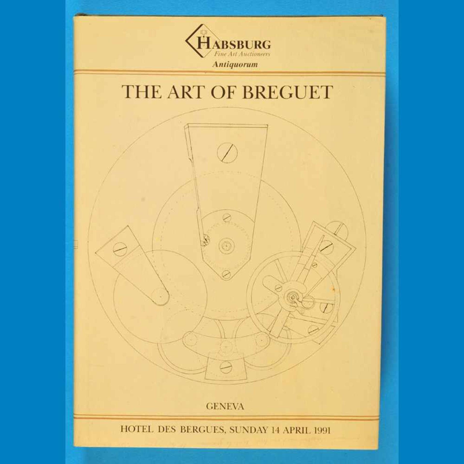 Antiquorum, The Art of Breguet, Katalog von 1991Antiquorum, The Art of Breguet, Katalog von