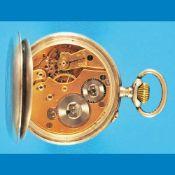 """Seeland silver pocket watch, sign. """"Oberbayerische AG für Kohlebergbau, 1899""""Seeland Silber"""