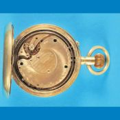 Big metal pocket watch with 8-days-movementGroße Metalltaschenuhr mit 8 - Tage-Werk und 5-M