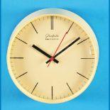 "Round ship walll clock, ""Glashütte elektrochron""Runde Schiffs-Wanduhr, ""Glashütte elektroch"
