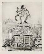 Blendinger, Günter (geb. 1945 in Meuselwitz, lebt in Zepernick) Denkmal Friedrichs des Großen