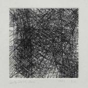 Claus, Carlfriedrich (Annaberg-Buchholz 1930 - 1998 Chemnitz) Willensimpuls Radierung, 1982, 125 x