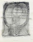 Altenbourg, Gerhard [i.e. Gerhard Ströch] Ein kaltes Brunnengewässer Blatt 4 aus der Mappe: Über