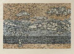 Cremer, Fritz Liebespaar am StrandFarblithographie, 1977, 247 x 370, sign., dat., num.(8/80),