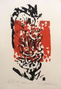 "EBERSBACH, HARTWIG: ""Kaspar, schwarz-rot"", 1992"