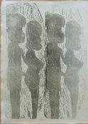 """ALTENBOURG, GERHARD (Gerhard Ströch): """"Die Verwandlung"""", 1976"""
