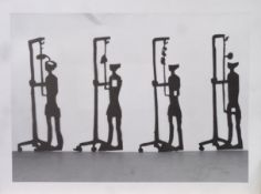 "DROESE, FELIX: ""Zug der Ahnungslosen"", 1993"