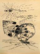 "CLAUS, CARLFRIEDRICH: ""Handreflexion"", 1974"