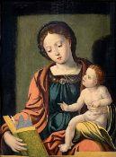Pieter van Aelst or Coecke Pieter van Aelst (1502-1550 Aalst Brussels), Alleged artist. Madonna