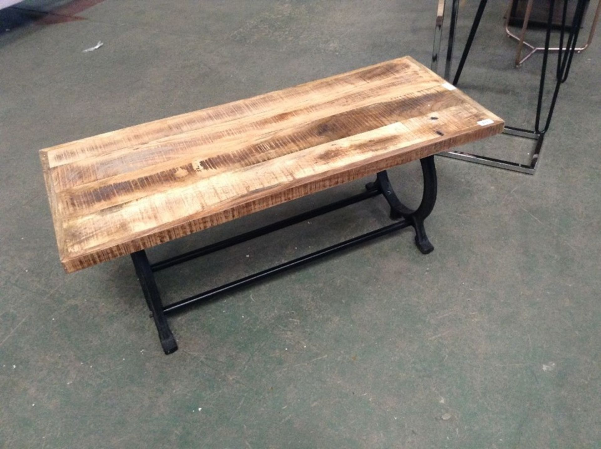 Lot 611 - Borough Wharf,Dennison Wood Bench RRP -£119.99 (H1