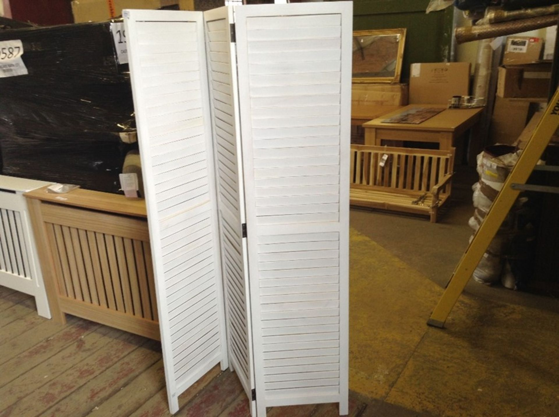 Lot 771 - House of Hampton,Dax 3 Panel Room Divider RRP -£13