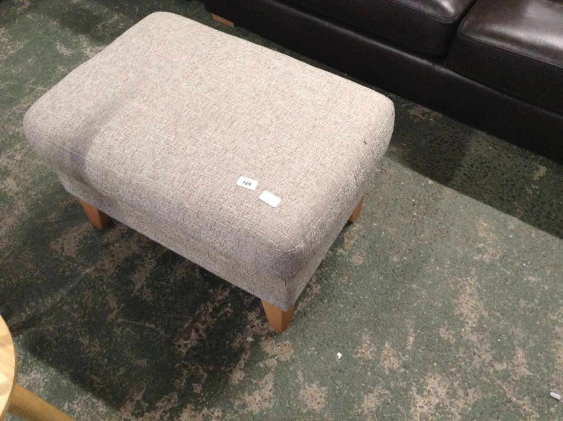 Lot 189 - MARCO ROMA TAUPE STOOL (SFL718-700209647622)