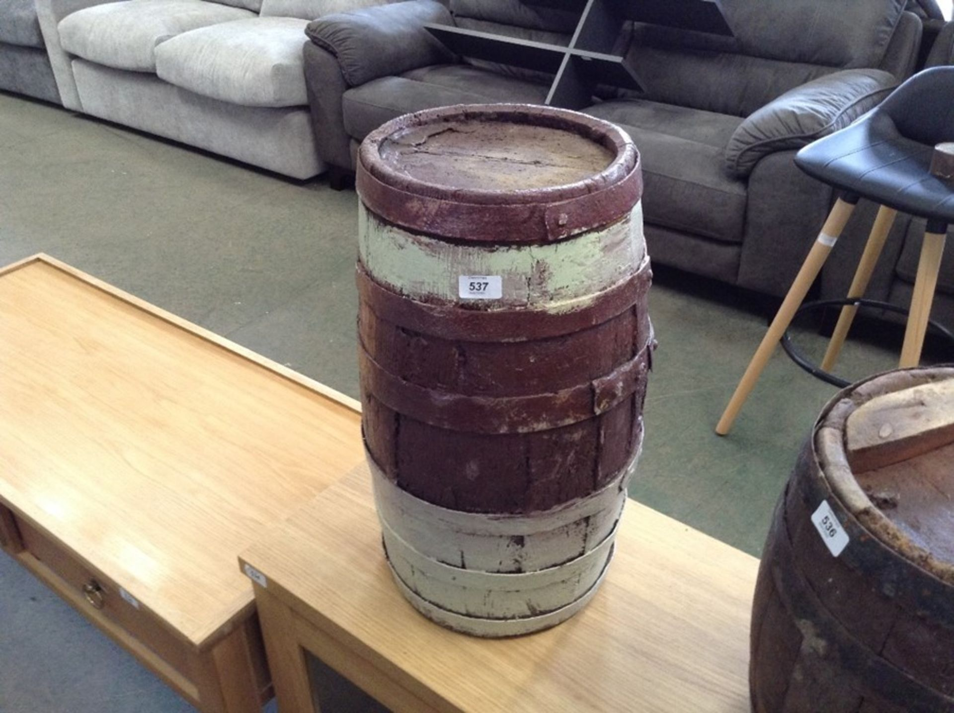 Lot 641 - BARREL