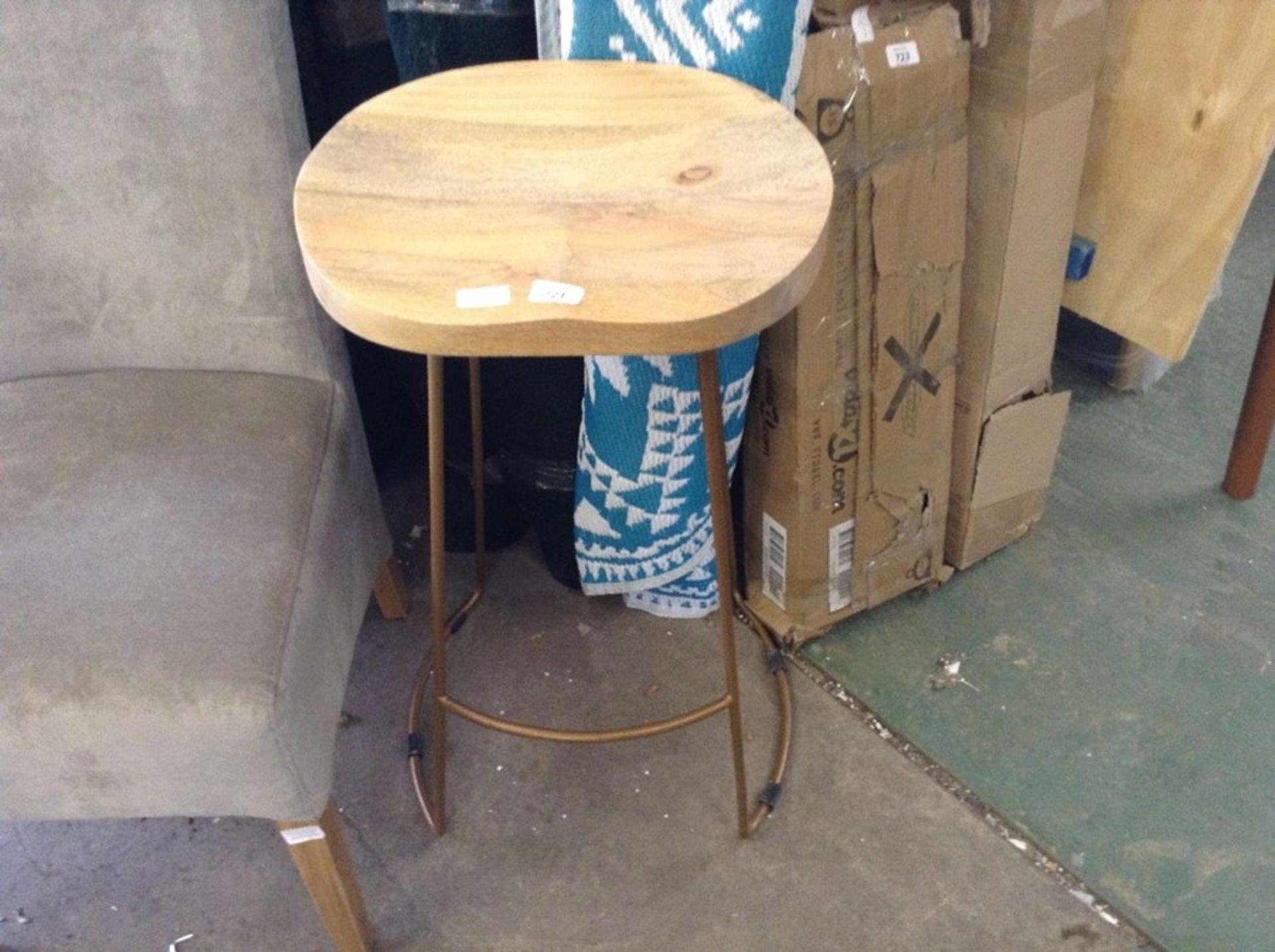 Lot 588 - 17 Stories,Wayman 80cm Bar Stool - RRP £85.99 (MBZ