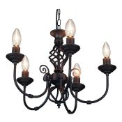 Laurel Foundry, Correll 5-Light Candle Style Chandelier - RRP £52.99 (HJMF1284 - 15429/45) 7A