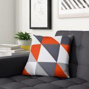 Zipcode Design, Benjamin Cushion Cover Colour: Ora