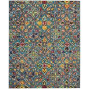 Bloomsbury Market,Beahm Hand Tufted Wool Blue Rug ,RRP - £153.99 (LOWV2095 - 17454/41)