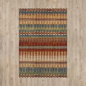 World Menagerie, Mirfield Multi-Coloured Rug RRP £71.99 (ANDM1349 - 18699/2)