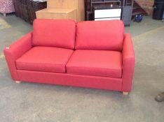 PORTIA Bevan Red Medium Sofabed (SFL937)