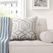 Zipcode Design, Chriz Scatter Cushion (SILVER) X5 - RRP £10.99 (HAZM6719 - 18602/27 - 18602/28 -