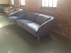 LINNET COBALT CAPE LARGE 2 SEATER AND CHAIR (S