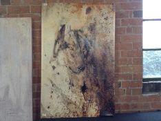 East Urban Home,'Wolf Wonder Wild Life' Graphic Art Print on Canvas RRP -£92.99 (BGSY5826 -15741/