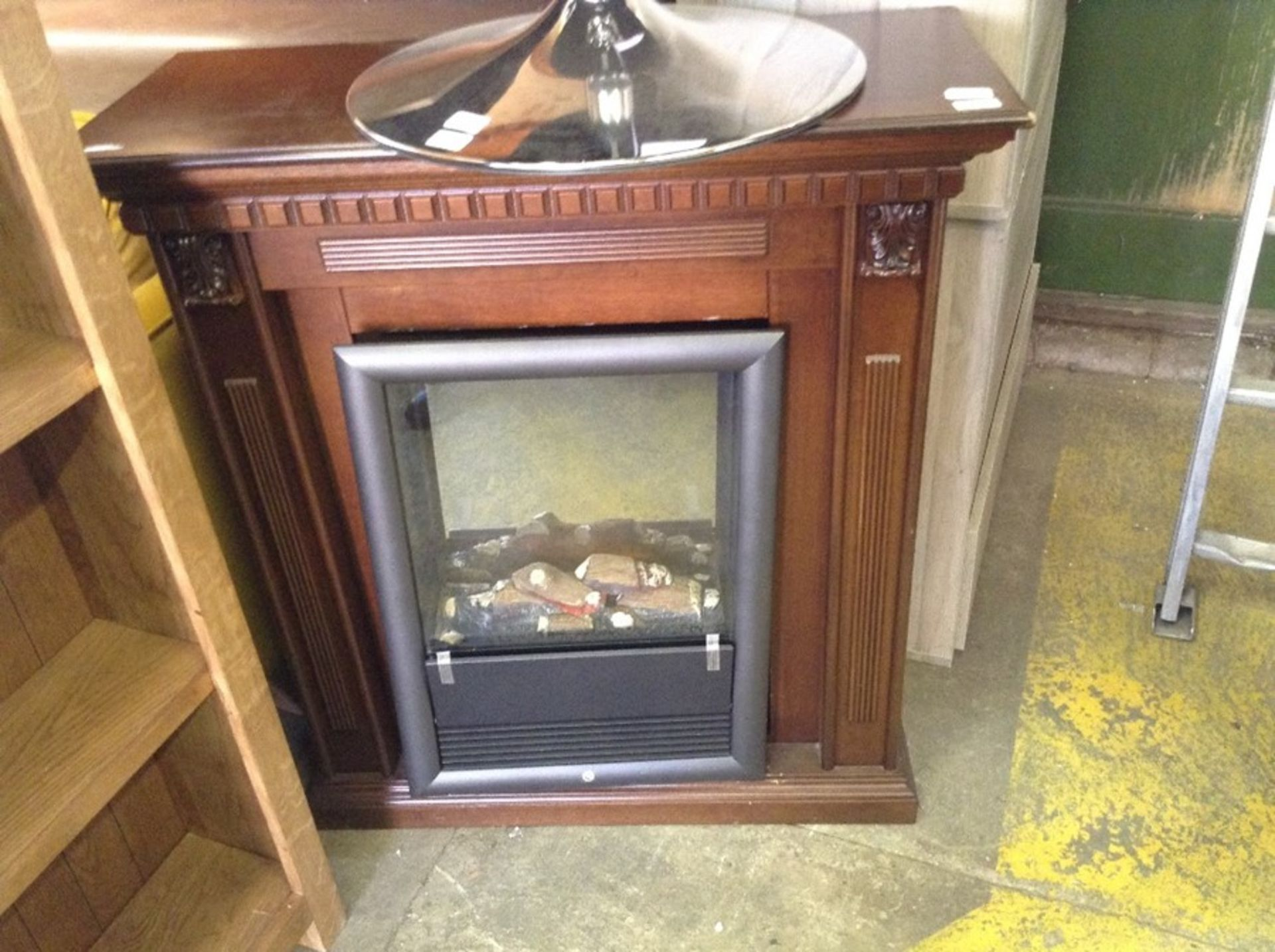 Lot 657 - Belfry Heating Melva Electric Stove and surround d