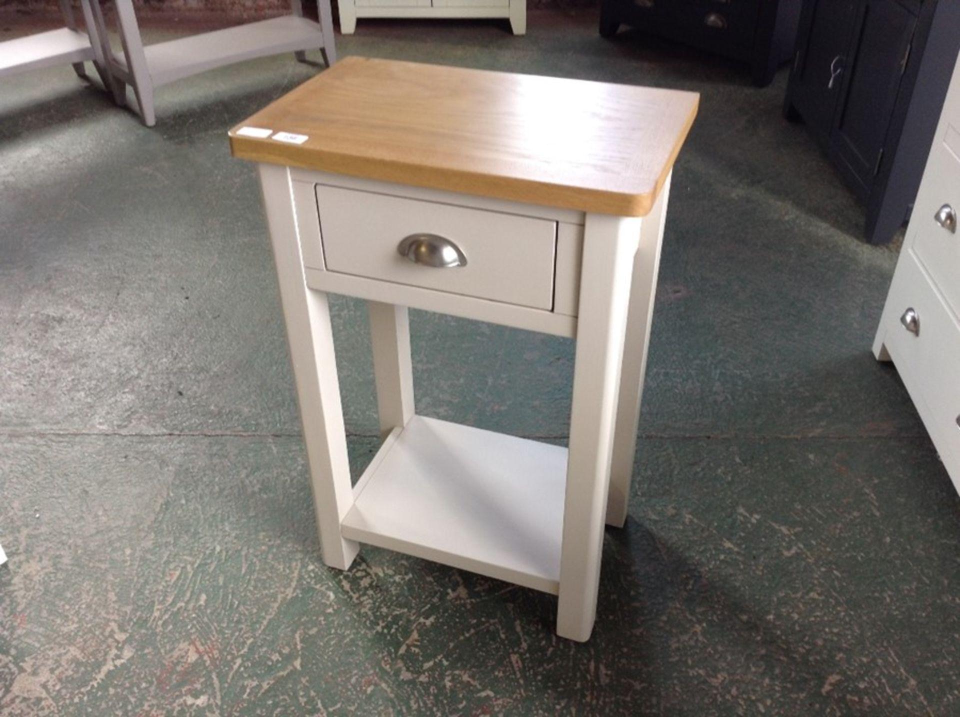Lot 210 - Rutland Painted Oak Telephone Table (CH36-RA-TEL-T