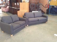 PORTIA Turin Charcoal 2.5 str and 2 SEATER ( SFL91