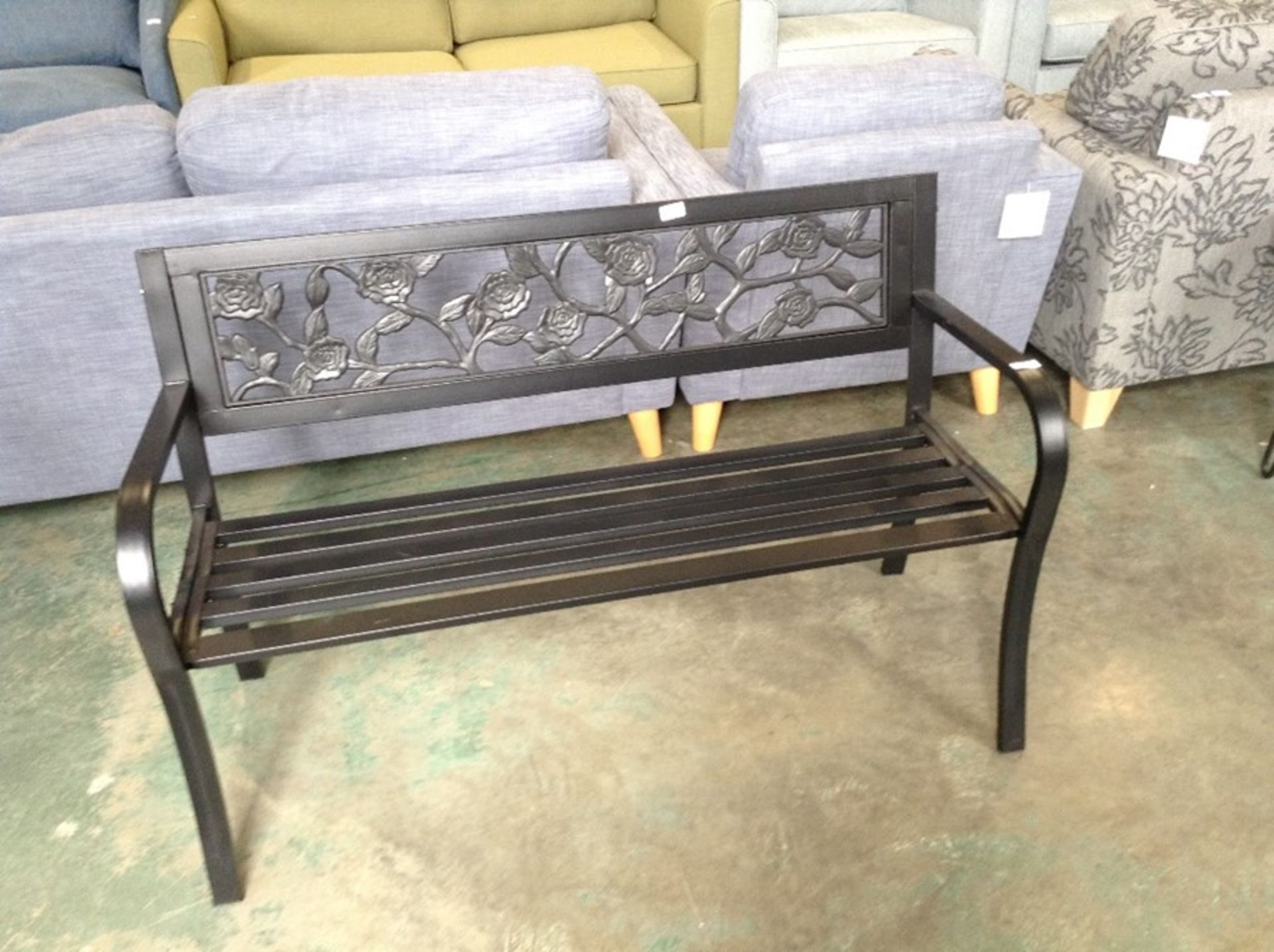 Lot 641 - George Oliver,Arianna Glider Bench RRP -£ 164.99(