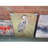 KARE Design,Leinwandbild Touched Heron RRP -£50.99