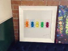 East Urban Home,'Babies' Framed Graphic Art Print on Metal RRP -£124.99 (EUBQ2007 -15741/38)