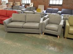 BROOKE WINDSOR GREY SOFABED AND CHAIR (SFL802-SFL812)