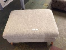 BISCUIT PATTERN LARGE FOOTSTOOL (HH11 671628-34)