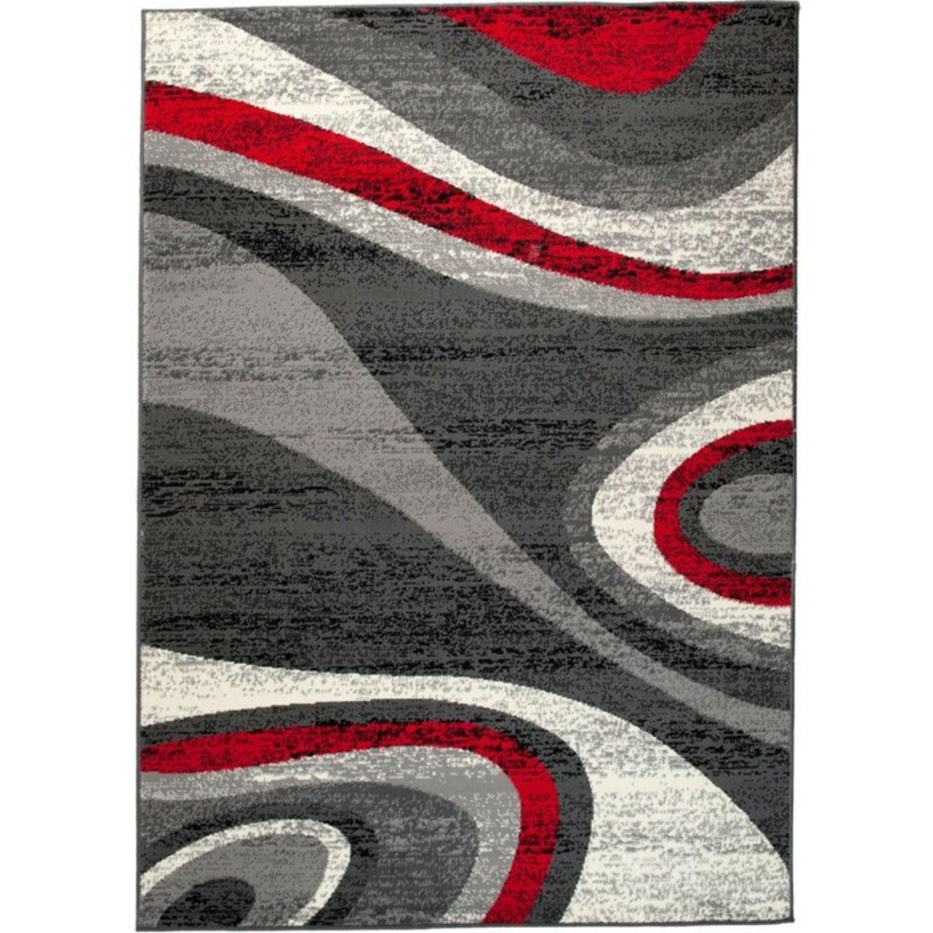 Longweave,Taurean Dark Grey Rug (80X150CM)RRP -£ 19.99(18267/36 -LOWV1655)