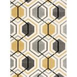 George Oliver,Grafton Hand Knotted Mustard Rug (80X150CM)RRP -£ 45.99(18267/3 -NCVD1096)