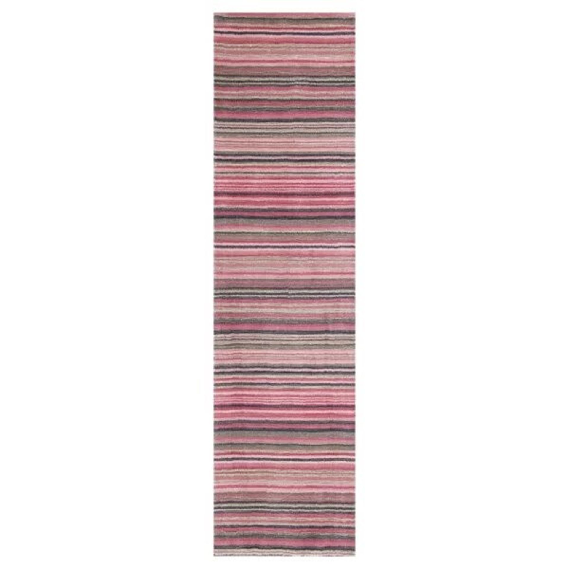 Mercury Row,Mager Hand Tufted Wool Pink Rug (60X230CM)RRP -£ 69.99(18267/13 -LOWV2384)