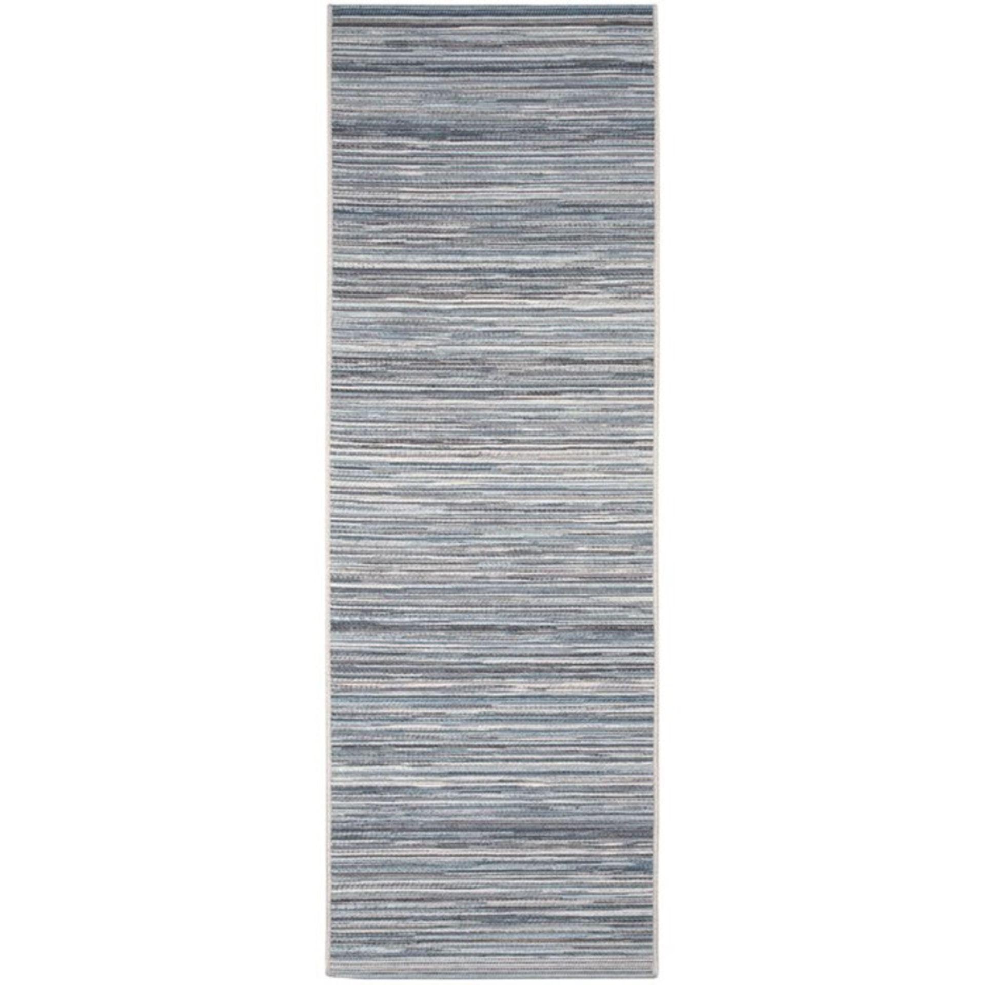 17 Stories,Njord Grey Indoor/Outdoor Rug (60X200CM)RRP -£ 25.99(18267/38 -CCOQ2089)