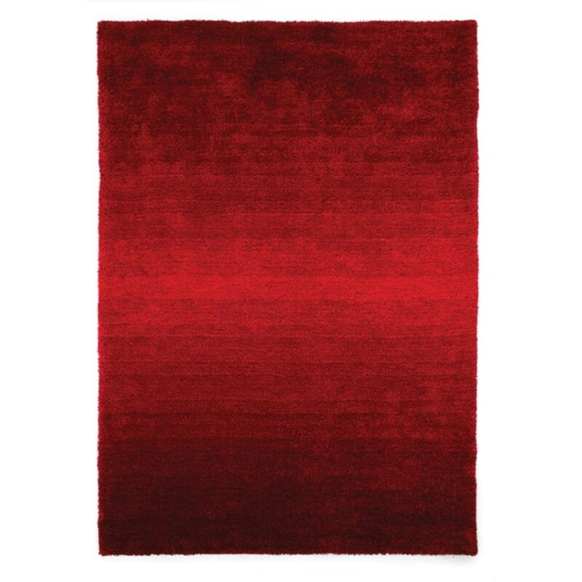 Longweave,Bozart Red Rug (120X170CM)RRP -£ 39.99(18267/25 -LOWV1026)