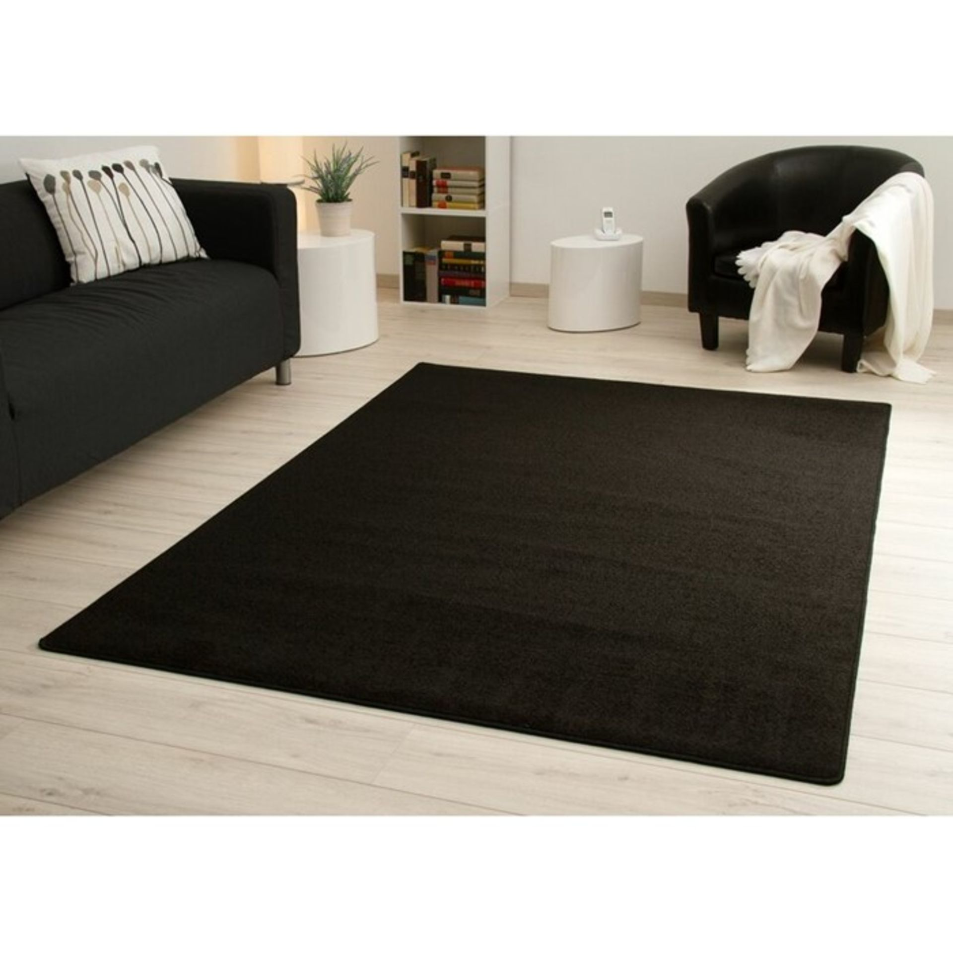 ClassicLiving,Teppich Arenberg in Schwarz RRP - £94.99 (H16053 - 11/36 -STFE1097.42389430)