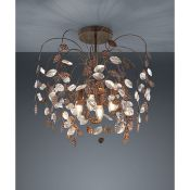 Marlow Home Co., Brownell 4-Light Semi Flush Mount (COPPER) - RRP £129.99 (LYTB1083 - 15792/13) 6D