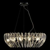 Schuller, Ariadna 12-Light Crystal Pendant (CHROME) - RRP £569.99 (QFA10136 - 18016/2) 5D