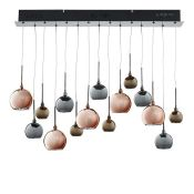 Dar Lighting, Aurelia 15-Light Cluster Pendant - RRP £244.99 (DLI7939 - 10913/4) 6A
