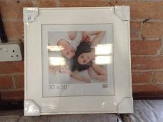 17 Stories,Eustace Picture Frame RRP -£38.99 (HAZO6476 -15741/30)