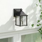 Dar Lighting, Doyle Outdoor Wall Lantern (BLACK GOLD FINISH) - RRP £43.99 (DLI1286 - 13009/22) 6F